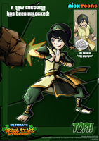 Nicktoons - Toph (Alternate Costume) by NewEraOutlaw