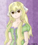 Chii in Green Dress by FlowerNinjaA
