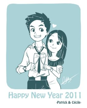 Happy New Year 2011 by patrick-q
