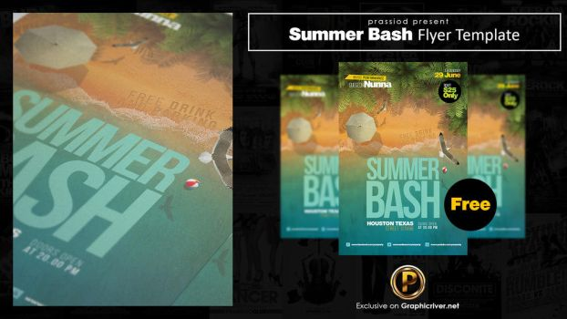 Summer Bash Flyer Template by prassetyo