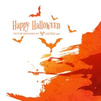 Halloween Bat Free Vector by vecree