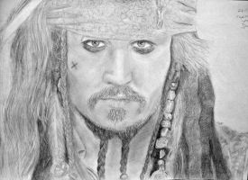Jack Sparrow by lizzib7292