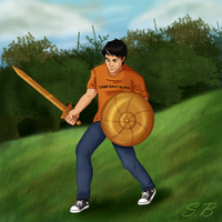 Percy Jackson - Son of Poseidon by sbrigs