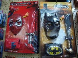 Wtf spiderman and batman by Spidertitans