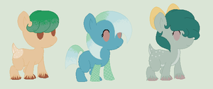 Melody and Shiver Foals- One Left! by PyscoSnowflake
