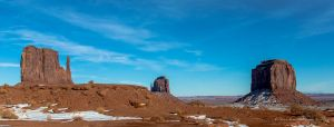 Monument Valley 1 The Mittens and  Merrick Butte by Mac-Wiz