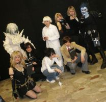 Death Note - The group by Cospoison