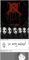 Marble Hornets on Drugs by dracothrope