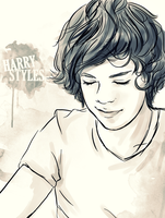 Harry Styles by Doodle-Sprinkles