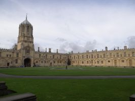 Christ Church Grounds by JackHayden