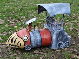 Nightmare Before Christmas Train by meanlilkitty