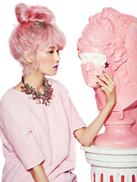 Gayoon (4Minute) PNG Render by classicluv