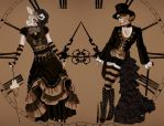 Steampunk reality by wolfmoondeath