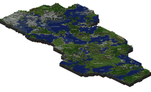 Map of my Minecraft World by adalwulfhelfgott