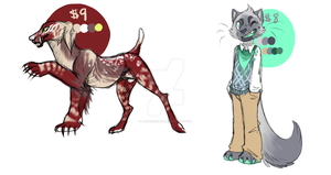 more adopts {open} $5 each by meteorcrash