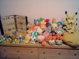 Pokemon Toy Collection 2nd Pic by FizzyBubbles