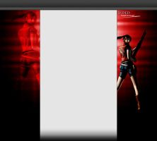 Claire Redfiled 3.0 YouTube Layout by FadedBlackangel