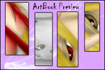 Artbook Previews16 What i have done? by xFeajix