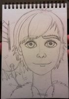 Hiccup - WIP by LoveMelianor