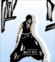 Shuuhei Hisagi by SolitaryThunder