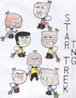 Star Trek goes FOP style by Diva3000