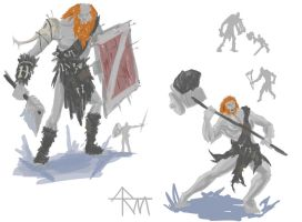 Frost Giants Concept Work by StormWolf92