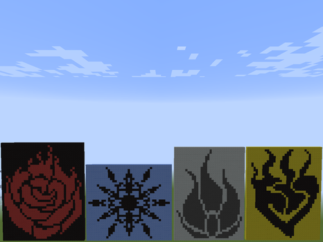 RWBY Emblems in Minecraft by FH47