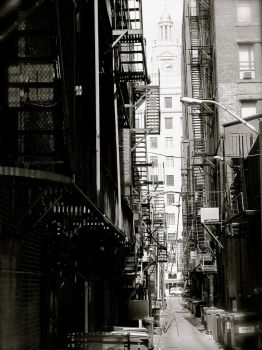 West Side Story, a NYC alley by trbyns