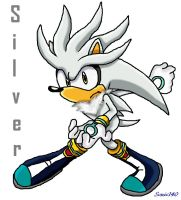 Silver the Hedgehog by Sonic140