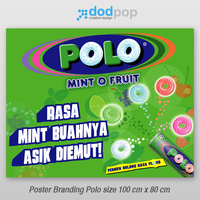 poster branding mint o fruit by dodpop