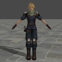 Cloud Strife - Soldier - Crisis Core by TheForgottenSaint47