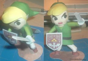 Wind Waker Paper Craft by nasakii