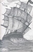 Sailing Ship by Pandora080188