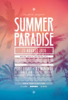 Summer Paradise Flyer by styleWish