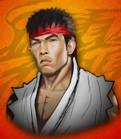 Ryu Portrait by sankart