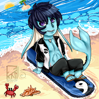 Pixel Tide by Kinla