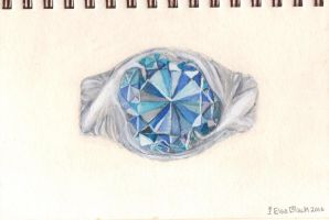 Peacock Ring by Lady-Twilight-Eyes