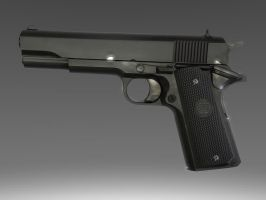 Colt 1911 by JohnnieWooker