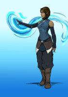 Korra Colors WIP by Sketchydeez