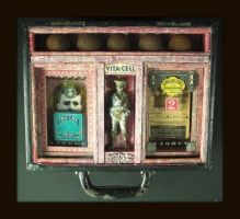 Mixed Media Assemblage 275 by GregPDX