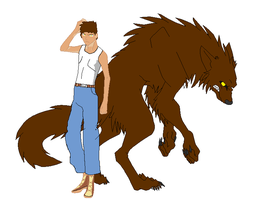 Conner the Werewolf by Soraply11