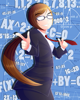 Math is your waifu by RemiVire
