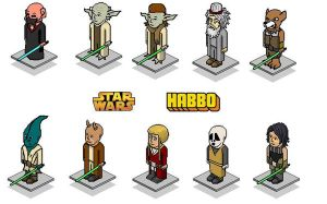 Star Wars Habbo Set 2 by sk84life222