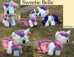 Sweetie Belle - Plush by TadStone