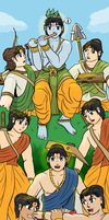 Special - Children of Hastinapur by VachalenXEON