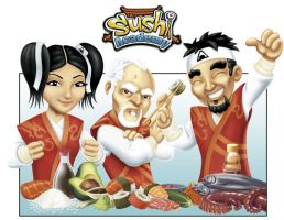 Sushi Academy DS by steveart81