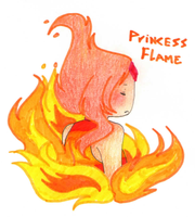 Princess Flame by FoxGirlX