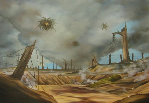 THE WAR TO END ALL WARS by VisionaryImagist
