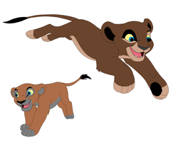 free lion sisters SOLD by PrincessaDramaQueen