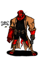 Hellboy 2.0 by ComandanteBrasco